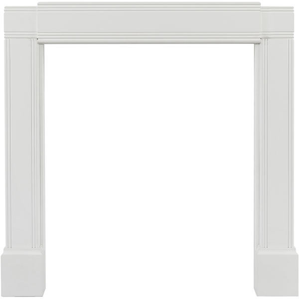 "21""H x 63""L x 21""W Adjustable Mantel, Emory"