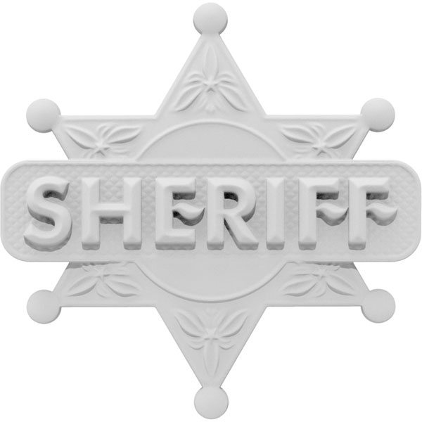 Hometown Hero Sheriff Onlay