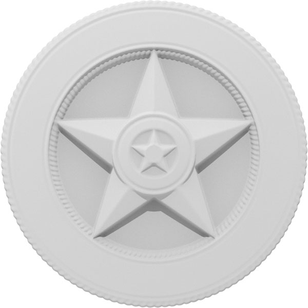 Hometown Hero Double Star Badge Onlay