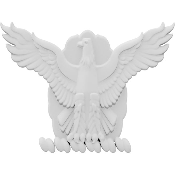 Military Eagle Wings Onlay
