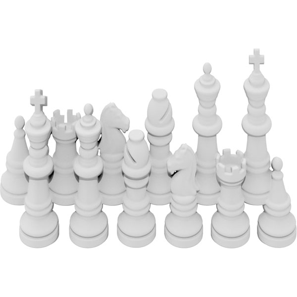 Chess Pieces Onlay