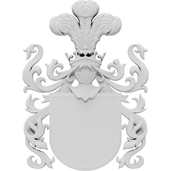 Coat of Arms Crown Onlay