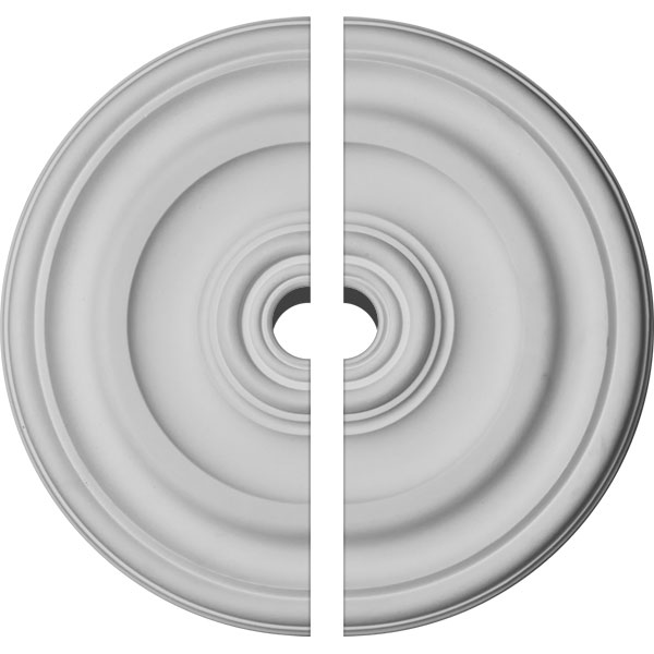 "11 7/8""OD x 1 1/4""P Kepler Traditional Ceiling Medallion, Two Piece (For Canopies up to 1 1/2"")"