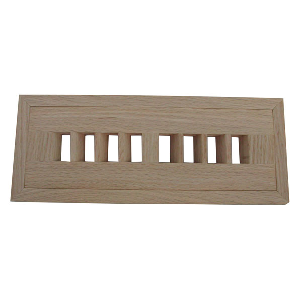 Max Flow Flush Mount Grooved Frame Register