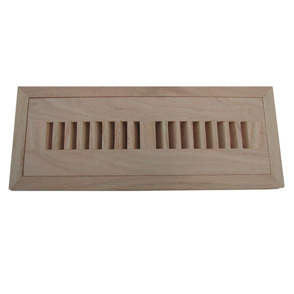 Vertical Slot Flush Mount Grooved Frame Register