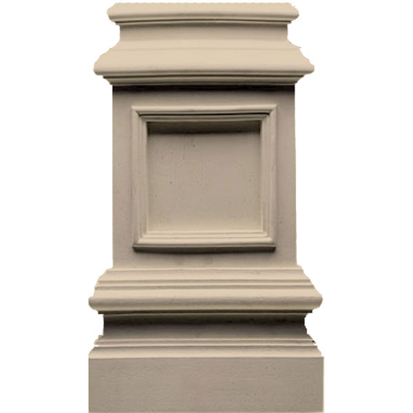 Architectural Column Base : Pearlworks base traditional resin plinth block
