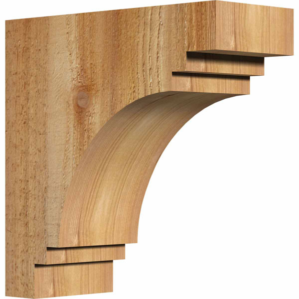 Pescadero Rustic Timber Wood Corbel