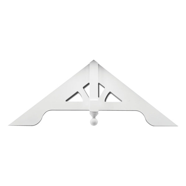 fypon ltd gpa arched style gable pediment urethane