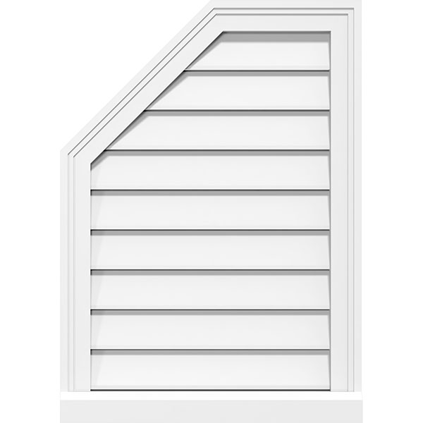 Gable Vents Wood Pvc Or Urethane Made In The Usa Ekena Millwork