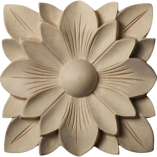 Springtime Flower Wood Rosette