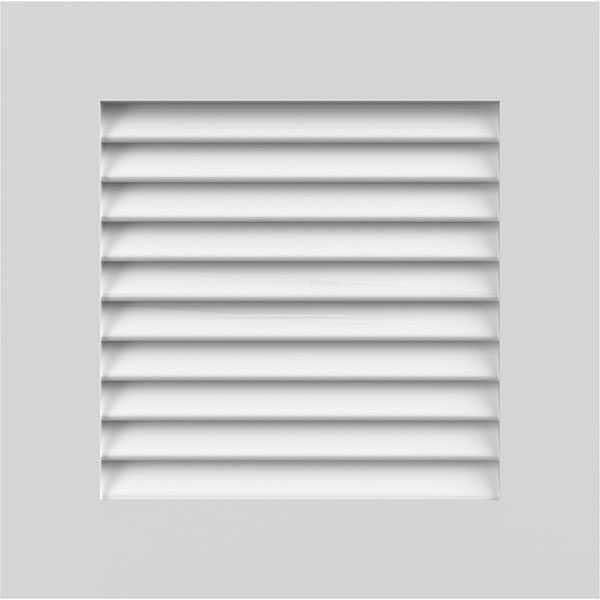True Fit PVC Louver Shutters Sample