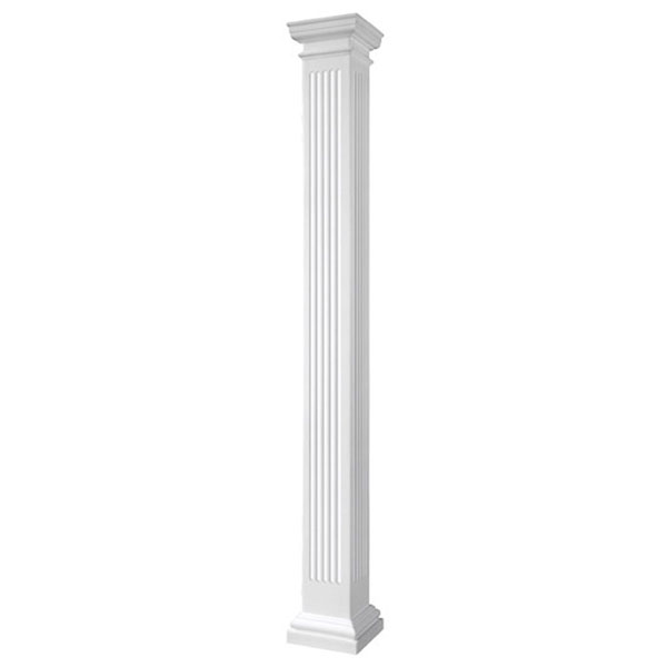 Pacific Columns Inc Esenfsatutu Endura Stone Fluted Column
