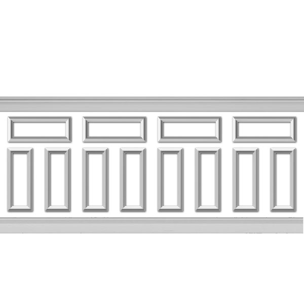 wpk08x20as-01_150 Wainscot Paneling Trim