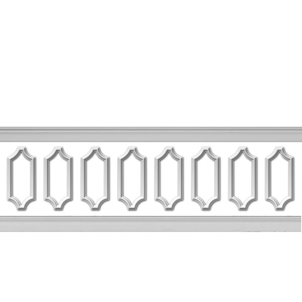 WPK08X20AS-02 Wainscot Paneling Trim