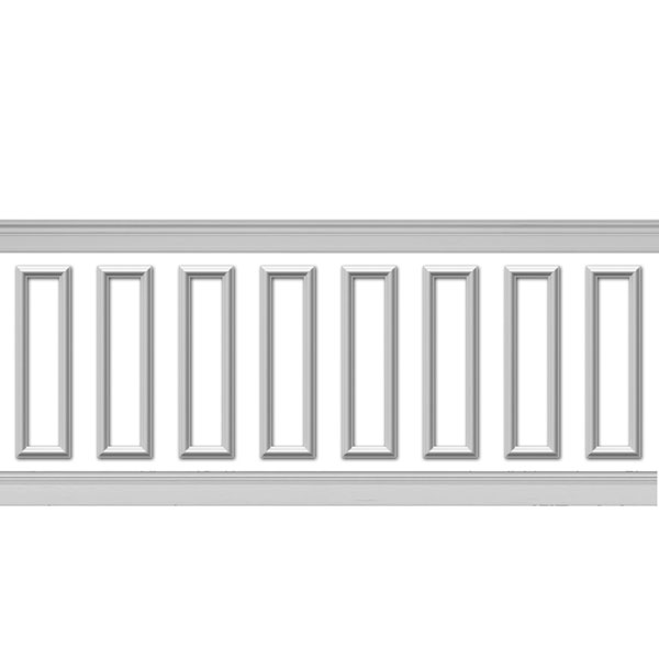 WPK08X28AS-01 Wainscot Paneling Trim