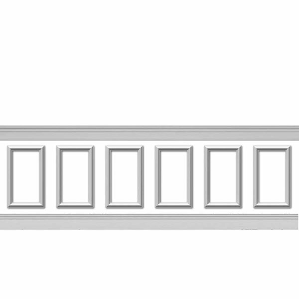 WPK12X20AS-01 Wainscot Paneling Trim