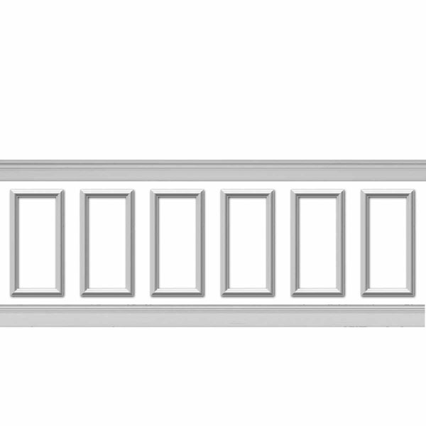 WPK12X24AS-01 Wainscot Paneling Trim