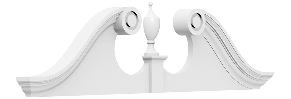 Rams Head Pediments