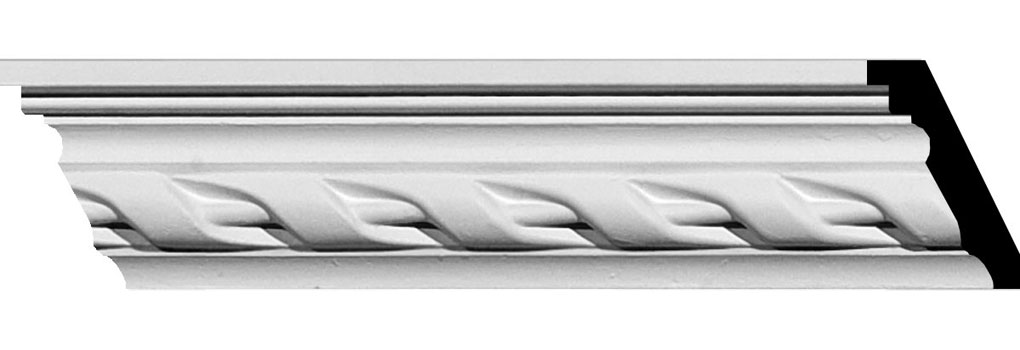 "2 1/8""H x 1 5/8""P x 2 5/8""F x 94 1/2""L Valeriano Crown Moulding"
