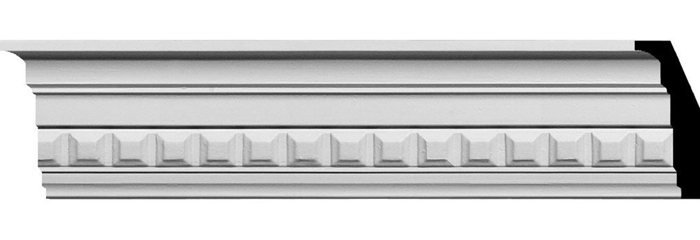 "3 1/2""H x 1 7/8""P x 4""F x 94 1/2""L Sequential Crown Moulding"