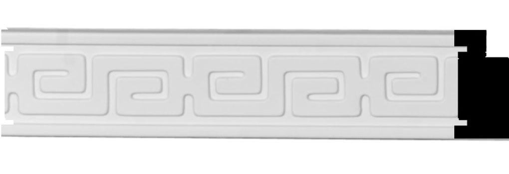 "1 5/8""H x 3/4""P x 96""L Eris Key Panel Moulding"