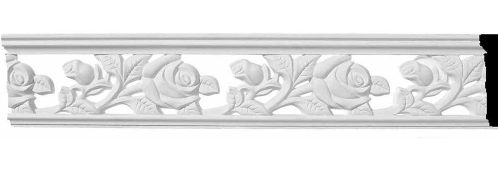 "2 3/4""H x 3/8""P x 78""L Hillsborough Pierced Moulding"