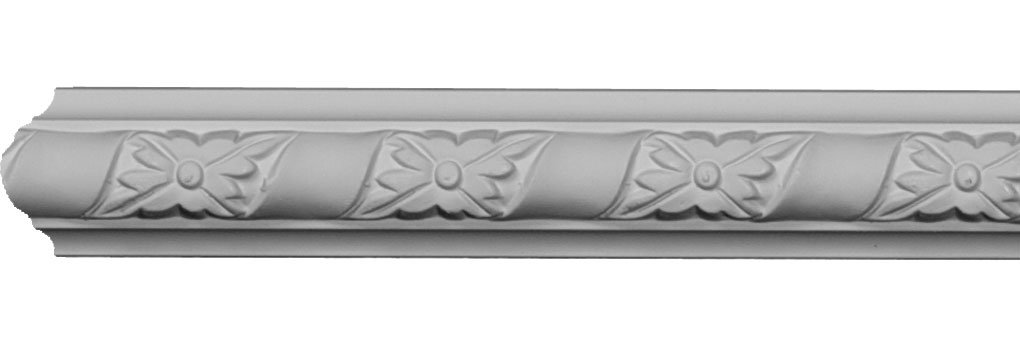 "1 5/8""H x 3/4""P x 94 1/2""L, (2 3/8"" Repeat), Kendall Panel Moulding"