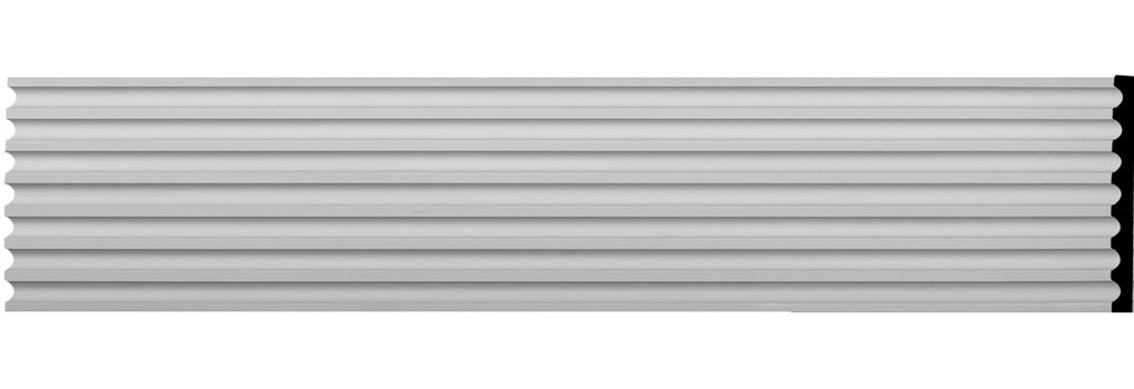 "17 3/4""W x 94 1/2""H x 1 1/2""D Reeded Casing"