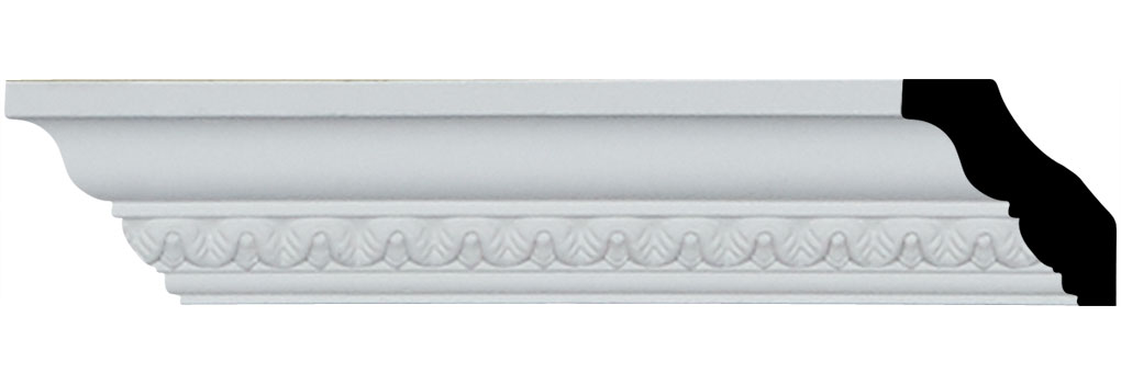 "1 1/2""H x 1 3/8""P x 2""F x 94 1/2""L Emery Crown Moulding"
