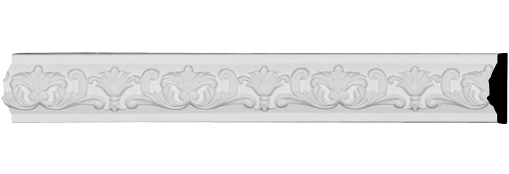 "1 5/8""H x 1/2""P x 94 1/2""L Marcella Panel Moulding"