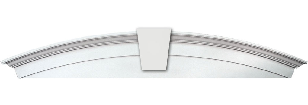 WCHARSK Window Crosshead Arch Solid with Keystone