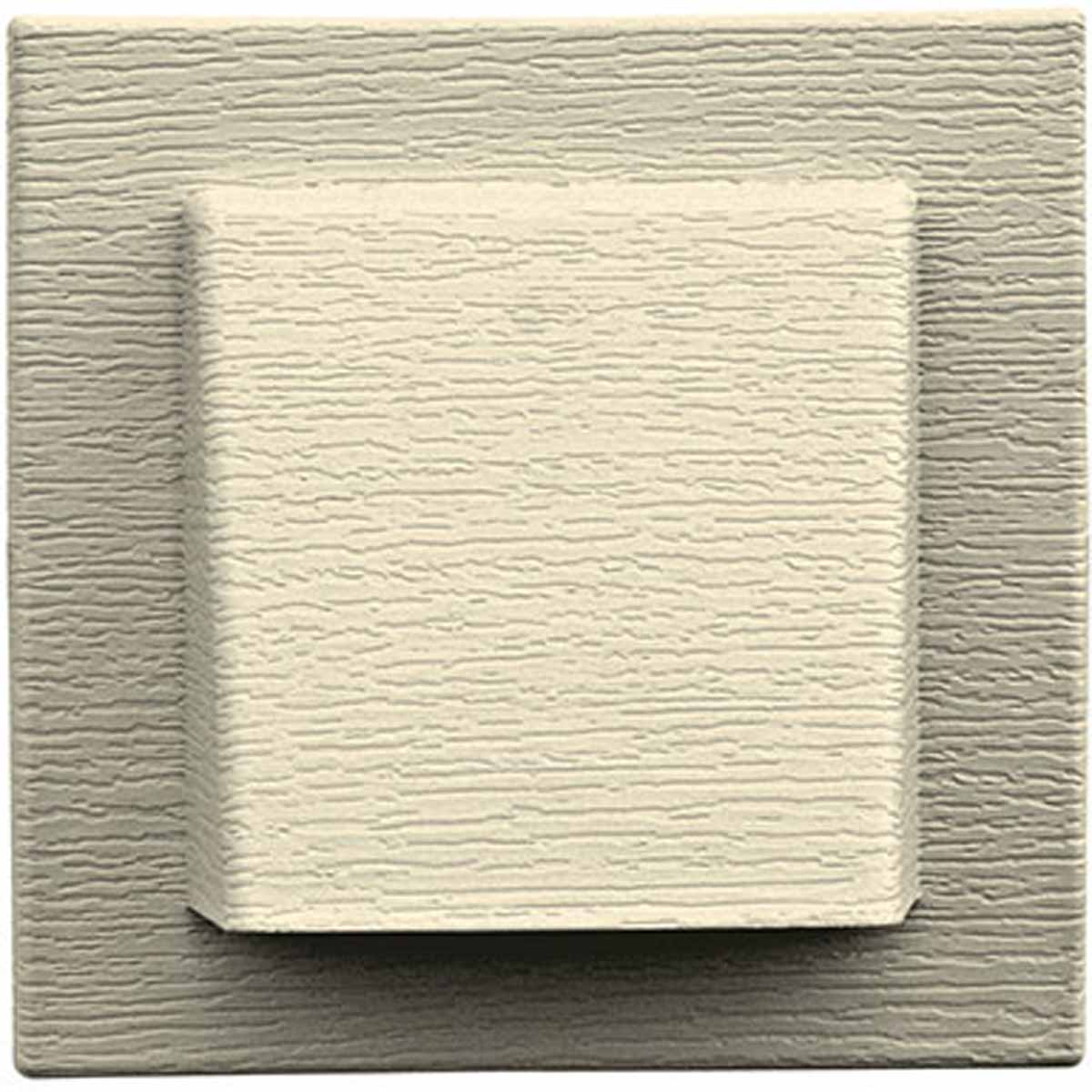 Mid america 00037805020 4 inch hooded vent with small anima for Fiber cement siding cost comparison