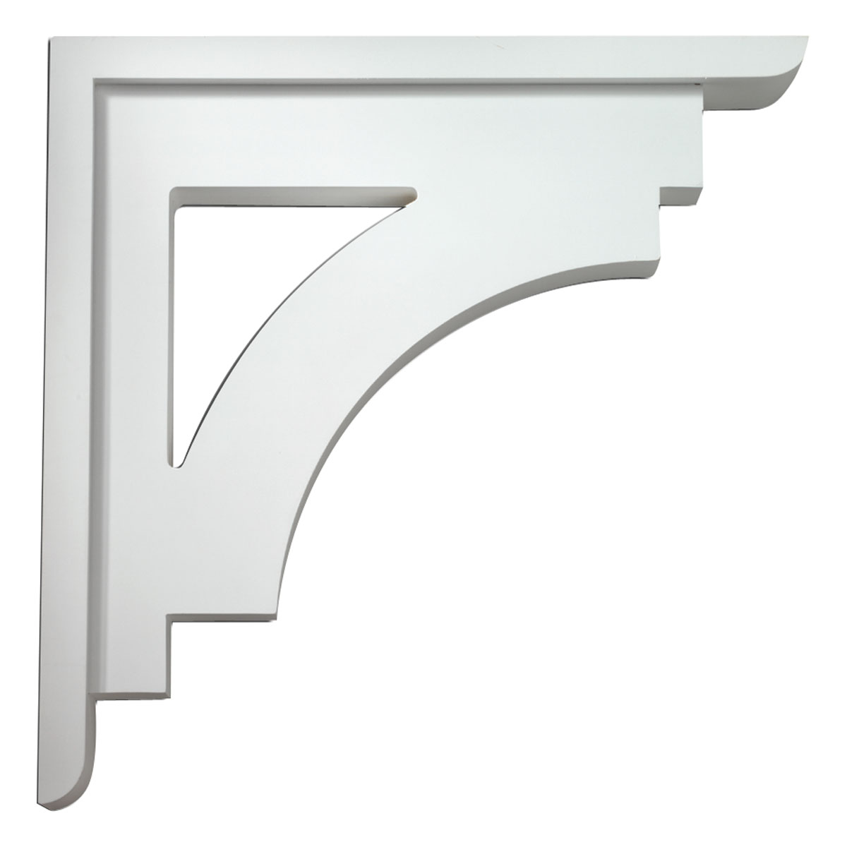 Fypon ltd bkt25x25 4 inch w x 25 inch d x 25 inch h arch b for Architectural corbels and brackets