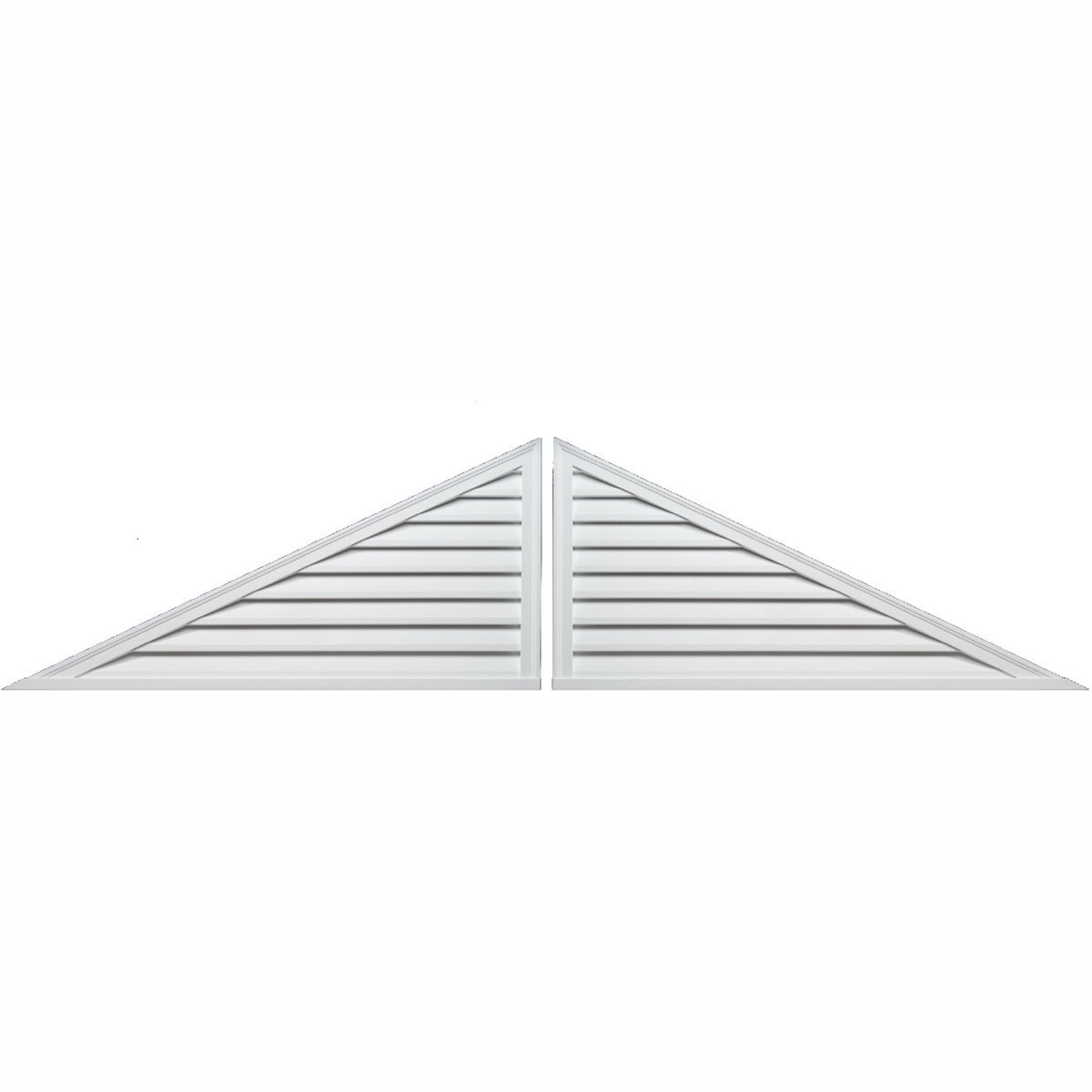 Fypon ltd trlvlr120x30 120 inch w x 30 inch h x 2 inch p for Fypon gable vents