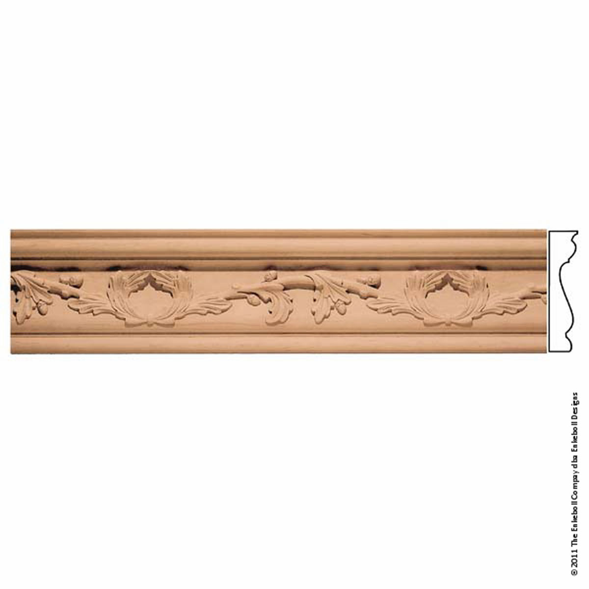 Enkeboll designs enkeboll designs mld oc9ma 9 7 8 inch w x 1 for 9 inch crown molding