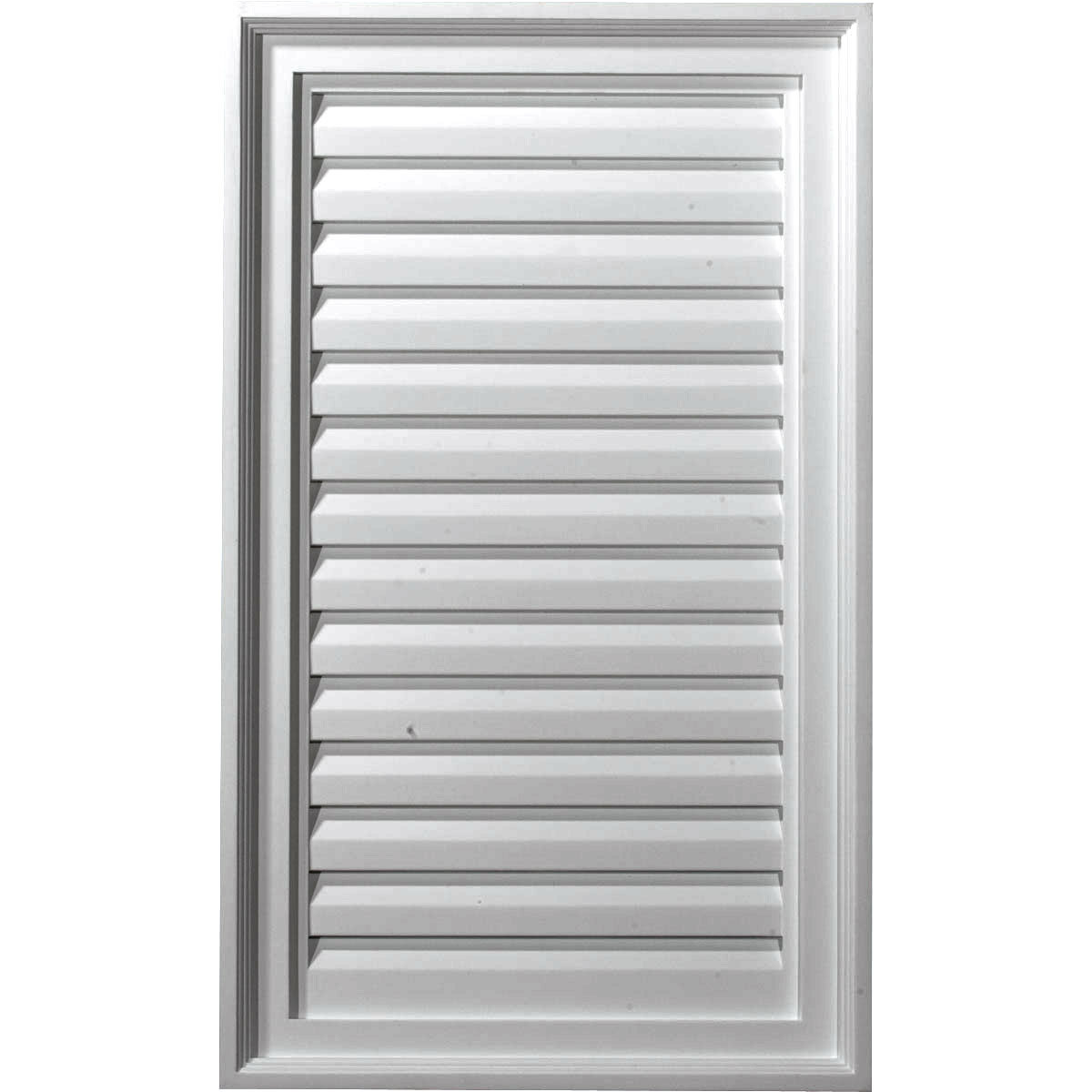 Ekena millwork gvve18x25d 18 inch w x 25 inch h vertical ure for Decorative louvers