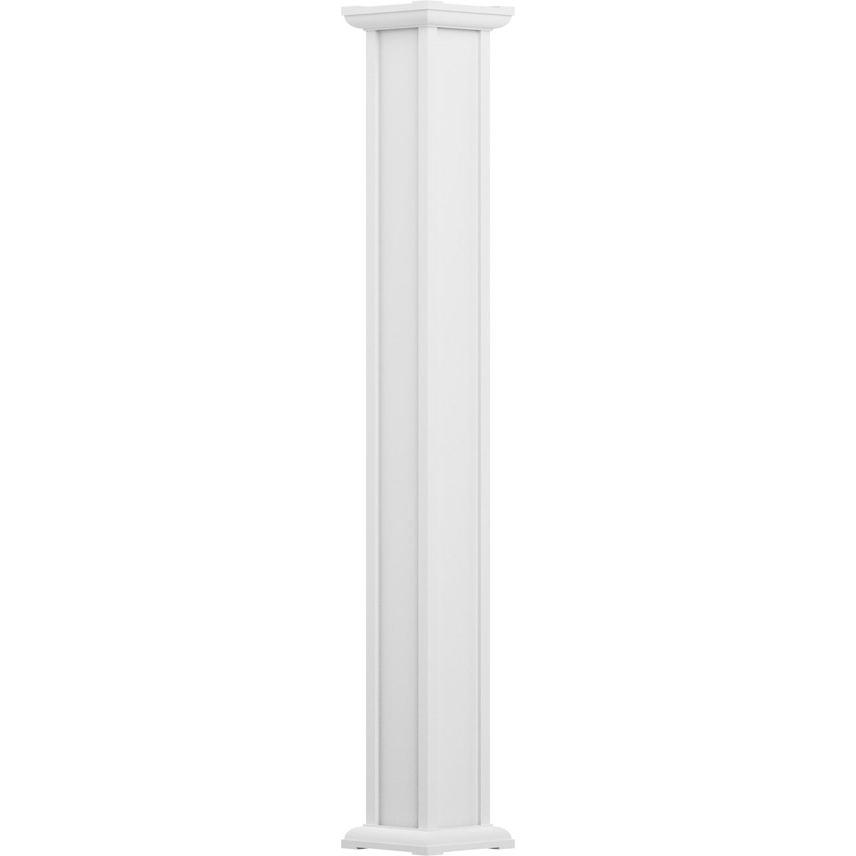 Afco industries ea0608inpspacac 6 inch x 8 39 endura aluminu for Permacast columns pricing