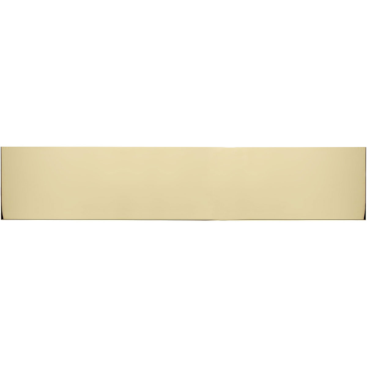 Brass accents a09 p0828 605mag 28 inch w x 8 inch h kick pla for Magnetic kick plates for exterior doors